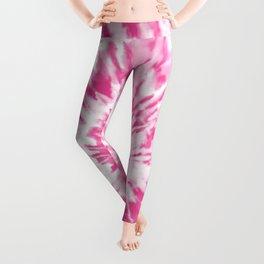 Light Pink Tie Dye Leggings