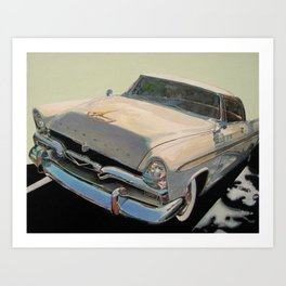 Plymouth Art Print