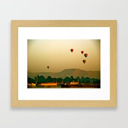 Over the Nile Framed Art Print