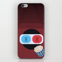 cinema iPhone & iPod Skins featuring Cinema by Thomas Official
