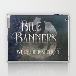 BLUE BANNERS when the lost return. Shadowhunter Children's Rhyme. Laptop & iPad Skin