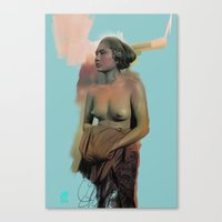 bali Canvas Prints featuring Bali by Organic Mind