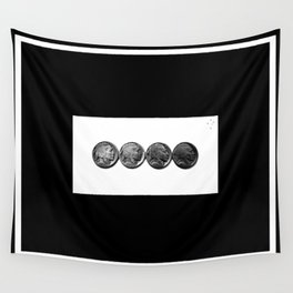 Buffalo Nickels Wall Tapestry