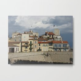 Antibes Buildings Metal Print