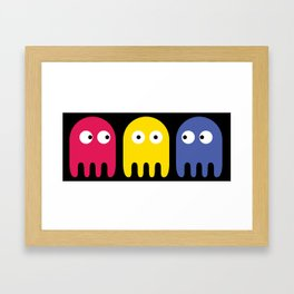 Pacman Enemy Framed Art Print