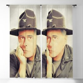 Harry Morgan, Actor Blackout Curtain
