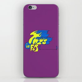 This is for (blank). iPhone Skin