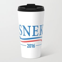 Snek for President 2016 Travel Mug