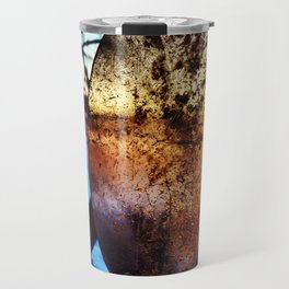 Reflection in Time Travel Mug