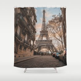 Paris 65 Shower Curtain