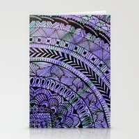 zentangle Stationery Cards featuring Zentangle by Doodle Frisson
