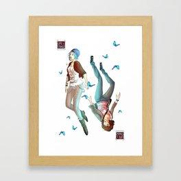 Life is Strange - Chloe  Framed Art Print