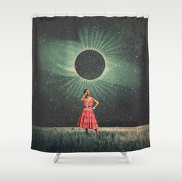 Total Eclipse of You Shower Curtain