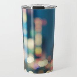Blurred Traffic Travel Mug