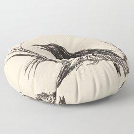 Crow edit version 3 Floor Pillow