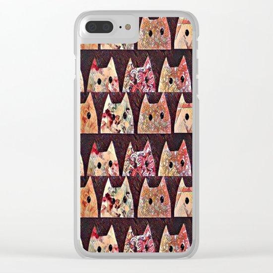 cat-234 Clear iPhone Case