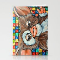 gizmo Stationery Cards featuring Gizmo  by Portraits on the Periphery