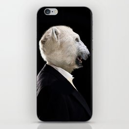 Mr.Polar bear iPhone Skin