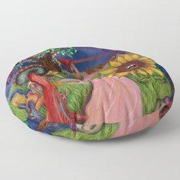 Psilocybiniety Floor Pillow