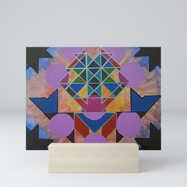 Geometric Heart Mini Art Print