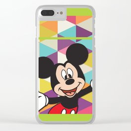 Mickey Mouse No. 11 Clear iPhone Case