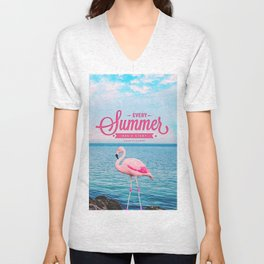 Every summer has a story Unisex V-Neck