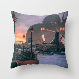Halloween Heat Throw Pillow