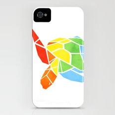 Shapeshifting Turtle iPhone (4, 4s) Slim Case