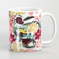 garden Mugs featuring Wild Garden II by Bouffants and Broken Hearts