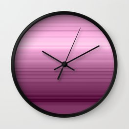 Rainbow love pink Wall Clock