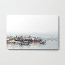 fishing village in Vietnam #society6 #decor #buyart Metal Print