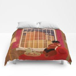 A quiet evening Comforters