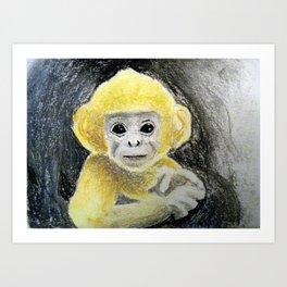 Tiny Monkey Art Print