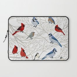 Winter Birds Laptop Sleeve