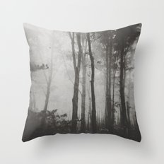 Before Darkness Comes Throw Pillow