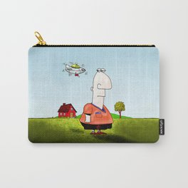 Little UFO Carry-All Pouch
