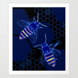 The Bees Knees Art Print