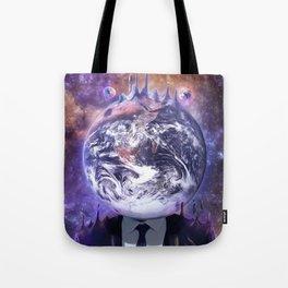 Salesman in Mercury Tote Bag