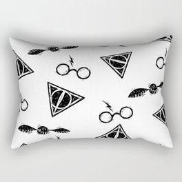 Glasses, Hallows, Seeker | HP Fan Art Collection Rectangular Pillow