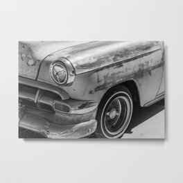 Sun Bleached Classic Car Metal Print