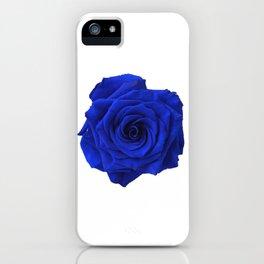 blue rose iPhone Case
