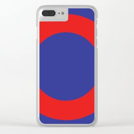 Phish Donut Clear iPhone Case