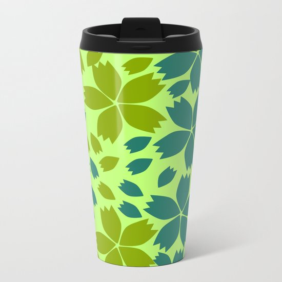Jungle storm Metal Travel Mug