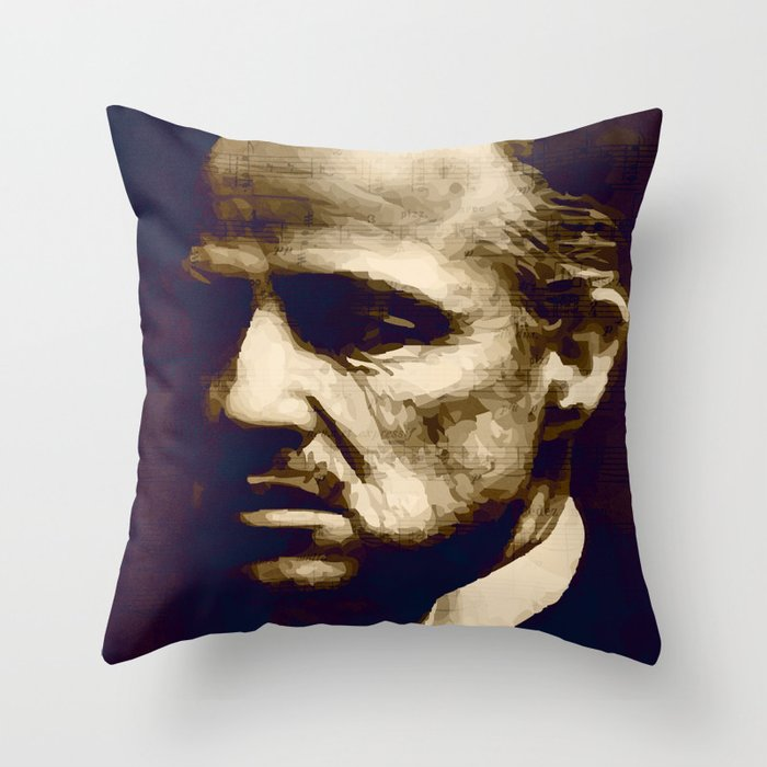 Godfather - I will make him an offer he can't refuse Throw Pillow