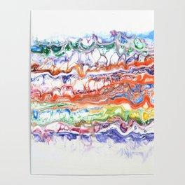 Mashed Rainbow Poster