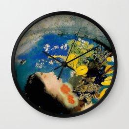 "Odilon Redon ""Ophelia"" Wall Clock"