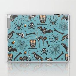 Halloween X-Ray Blue Laptop & iPad Skin
