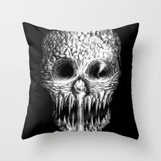 Skullunker Throw Pillow