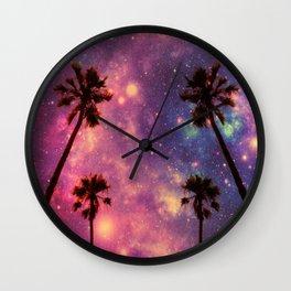magical palms Wall Clock