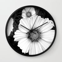 cosmos Wall Clocks featuring cosmos by lalula